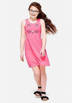 Hot New Fashion & Latest Clothing Trends For Girls Cute Dresses, Girls Dresses, Girly Girl Outfits, Latest Clothing Trends, Tween Girls, Comfy Casual, Dress Backs, Her Style, Everyday Fashion