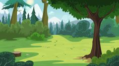 Pine Forest by BonesWolbach.deviantart.com on @DeviantArt