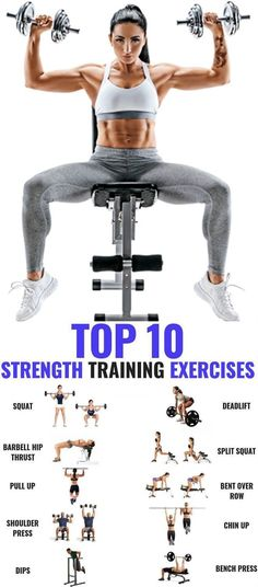 Try These 10 Best Free Weight Exercises for Women To Get Stronger And Leaner - GymGuider.com