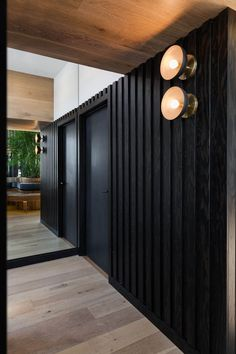 Image 46 of 50 from gallery of RYÙ / Ménard Dworkind architecture & design. Photograph by David Dworkind Contemporary Design, Trampolines, Montreal, Japanese Restaurant Design, Laser Cut Aluminum, Architecture Design, Stone Mansion, Timber Slats, Arquitetura