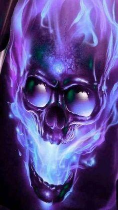 More at Mike Vands 😈 Skull Tattoos, Body Art Tattoos, Dark Fantasy Art, Dark Art, Skull Fire, Grim Reaper Art, Badass Skulls, Totenkopf Tattoos, Skull Pictures