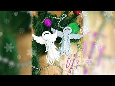 Dandelion, Christmas Ornaments, Holiday Decor, Flowers, Plants, Craft, Youtube, Bee House, Holiday Ornaments