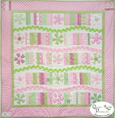 Fun House Baby Quilt at Quilters' Paradise