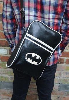Mens Original Vintage Rare Batman Bag