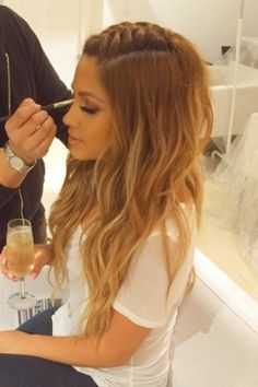 Want her hair. One day when mine feels like growing long