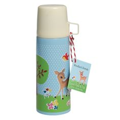 Woodland Animals Flask And Cup