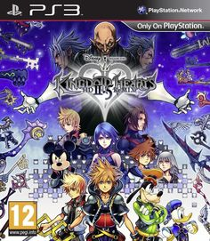 Kingdom Hearts 2.5 Remix HD  playstation 3 PS3   NUOVO !!!