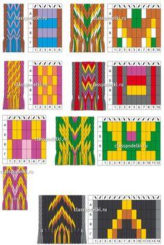 Gas circuit to weaving belts Belarus. Gas circuit to weaving belts Belarus. Inkle Weaving Patterns, Loom Weaving, Loom Patterns, Cross Stitch Patterns, Motif Zigzag, Finger Weaving, Mochila Crochet, Tapestry Crochet Patterns, Inkle Loom