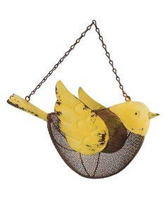 Another great find on #zulily! Daisy Hanging Bird Feeder by Department 56 #zulilyfinds