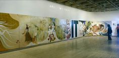 Art Gallery of New South Wales - Archive: Brett Whiteley - Alchemy Surry Hills, Australian Artists, Designer Wallpaper, Watercolour Painting, Alchemy, Wall Murals, Art Gallery, South Wales, Studio