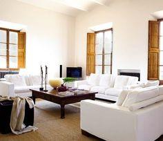 Sala de estar con diferentes estilos