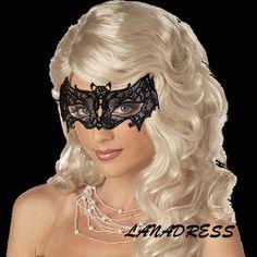 Delicate Mask Batman or Bat by LanaDresscom on Etsy
