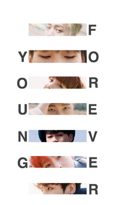 BTS - WALLPAPER #YOUNGFOREVER