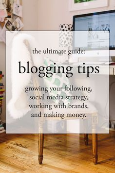 A Big Post About Blogging.