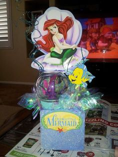 The Little Mermaid Centerpiece