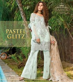 fab1f8f65c Pakistani Fancy Dress by Emb Royal - Pakistani Fancy Wear Online at Nameera  by Farooq,