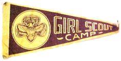 Girl Scout Camp Scrapbook