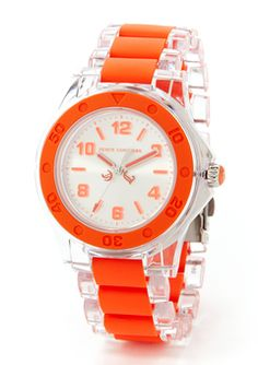 I love the bright color of this watch