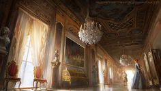 The Palace Room by nachoyague.deviantart.com on @DeviantArt