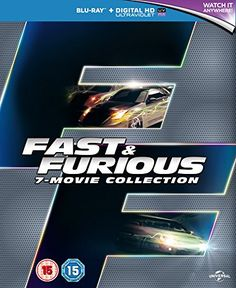 $34.99 - Fast  Furious Collection - 7-Disc Box Set  The Fast and the Furious  2 Fast 2 Furious  The Fast and the Furious Tokyo Drift  Fast  Furious 4  Fas  Blu-Ray RegABC Import - United Kingdom