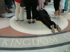This photo moves me - I took it at the TX State Capitol in 2007 during a Regional AGLOW meeting.  This is the way I feel we should be praying for our nation.  Lynn Scarborough