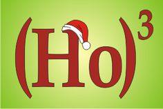If you were to actually multiply this out, you wouldn't actually get Ho Ho Ho, unless they're counting Ho as one term like 16. It's rather complicated.