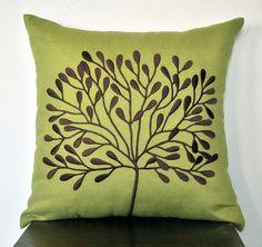 Borneo Throw Pillow Cover 18 x 18 Decorative Pillow by KainKain, $22.00