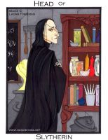 Harry Potter Tarot: King of Swords by nasubionna
