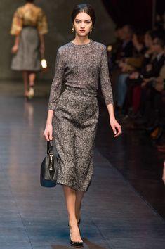 Неделя моды в Милане: Dolce & Gabbana осень 2013