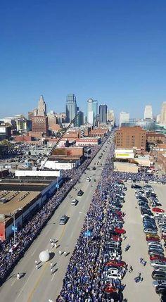 2015 KC ROYALS Parade