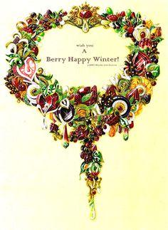 Berry Happy Winter- my jewelry design in 2010 winter.