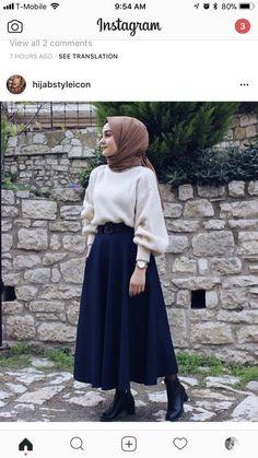 إليكِ - ILAYKI- حجاب ملابس بنات محجبات hijab hijab fashion hijabers hijab style gamis hijab muslimah fashion hijab syari hijab cheap gamissyari khimar ootd islam like muslim gamismurah veil dress hijabi hijab instant hijabootd hijab Modern Hijab Fashion, Street Hijab Fashion, Hijab Fashion Inspiration, Islamic Fashion, Muslim Fashion, Mode Inspiration, Modest Fashion, Look Fashion, Fashion Muslimah