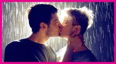 Joey Graceffa:  KISSING IN THE RAIN!  http://youtu.be/QgFBlBih0JA   #Daniel Preda