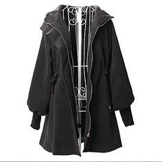 cappotto parka con cappuccio da donna - EUR € 15.73