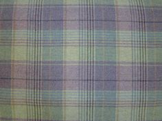 Heather wool tartan tweed check curtain fabric <br />We recommend a sample of this fabric if colour is important to you as colours on different screens may vary.