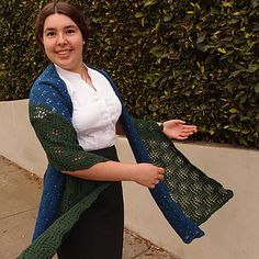 Forest of Stars beaded wrap