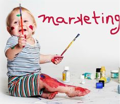 Baby Playing with Paint Video Marketing and SEO are a great way to drive traffic to your website and grow your business!
