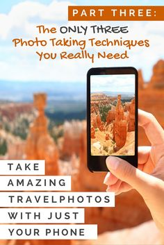 Do a google search for how to take good travel photos, and you'll be overwhelmed by the lists of tips that you see. There are plenty of techniques you can employ to growing your photography skills, but phone photography is a different beast and shouldn't be overly complicated. These three techniques will form a precious foundation for your skillset.