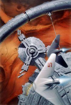 Art  by #TsuneoSanda.  #sciencefiction #scifi