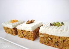 Prajitura cu morcovi si crema de branza (Carrot Cake) Romanian Desserts, Vanilla Cake, Sweet Treats, Sweets, Cooking, Recipes, Food, Inspiration, Kitchen