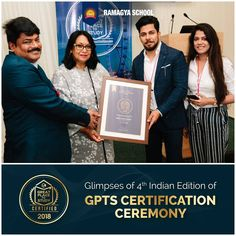 #GPTS #GreatPlaceToStudy #Certification  Honoured to be certified by Great Place to Study. GPTS aims to revolutionise existing educational models and promotes good teaching practices across the globe.  Ramagya School is pledged to provide the best in education for the new generation!