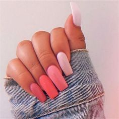 Lovely Summer Acrylic Square Nails Art Ideas - Nail Art Connect Summer is a favorite season for women. Because they don't have to wear bloated coats, finally in this season to Square Acrylic Nails, Summer Acrylic Nails, Best Acrylic Nails, Square Nails, Acrylic Nail Designs, Summer Nails, Pastel Nails, Coral Acrylic Nails, Squoval Acrylic Nails