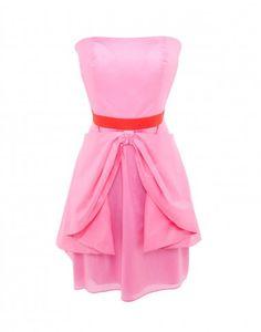 Cynthia Rowley Strapless Bow Dress