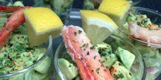 Verrine d'avocat et crabe facile et rapide : découvrez les recettes de Cuisine Actuelle Crab Recipes, Cantaloupe, Watermelon, Avocado, Fruit, Food, Cheesecake, Crab Meat, Cooking Recipes