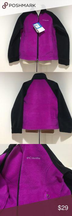NWT Girl XS(6/6X) Columbia Purple Fleece Jacket NWT Three Lakes Full Zip Fleece Jacket Youth XS (6/6X) Comes from a smoke & pet free home thanks for visiting my closet HAPPY POSHING💖 Columbia Jackets & Coats