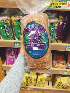 50 Finds at Trader Joe's - Get Healthy U Trader Joe's Products You Need! - Sprouted 7 Grain BreadTrader Joe's Products You Need! Trader Joes Bread, Trader Joes Vegan, Trader Joes Food, Trader Joe's, Easy Healthy Dinners, Get Healthy, Healthy Eats, Healthy Skin, Healthy Foods