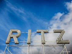 RITZ lettering Four Seasons Hotel, Lisbon, Hotels, Neon Signs, Lettering, Porto, Drawing Letters, Brush Lettering