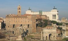 View towards Capitoline