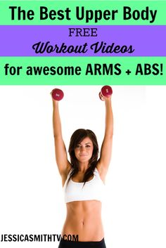 Shape up your upper half with these #FREE #workoutvideos