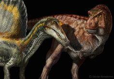 Spinosaurus and Tyrannosaurus                                                                                                                                                                                 More